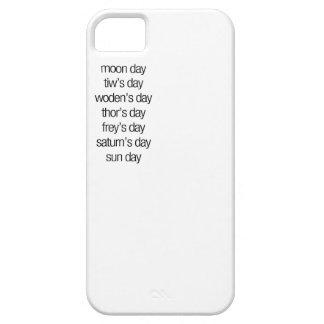 nordic week iphone 5 case