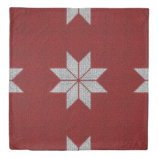 Nordic Winter Snowflake Christmas Duvet Cover