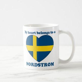 Nordstrom Classic White Coffee Mug