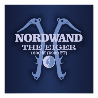 "Nordwand ""The Eiger"" Poster"