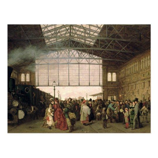 Nordwest Bahnhof, Vienna, 1875 Postcard