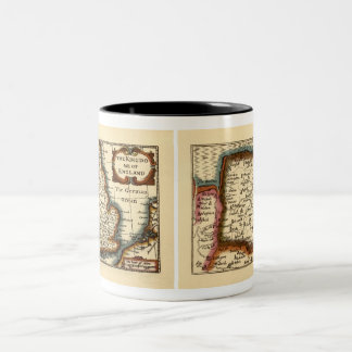 Norfolcke Norfolk County Map Coffee Mug