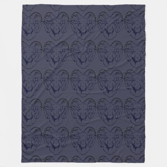 Norfolk Aggie Fleece Blanket