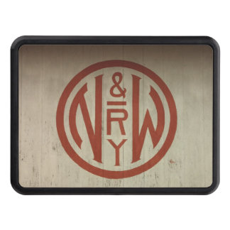 Norfolk and Western Railway Logo Hitch Cover