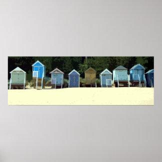 NORFOLK BEACH-HUTS 2 POSTER