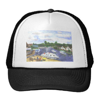 Norfolk Broads view from Wroxham Trucker Hat