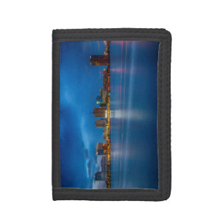 Norfolk City Skyline Trifold Wallet