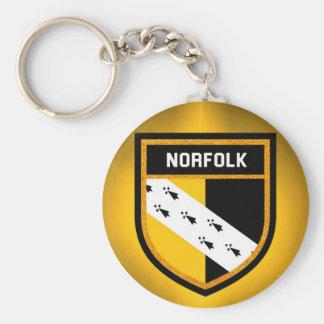 Norfolk Flag Keychain