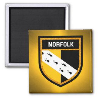 Norfolk Flag Magnet