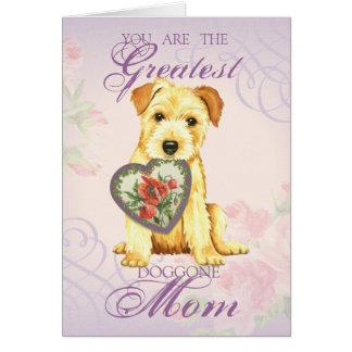 Norfolk Heart Mom Card
