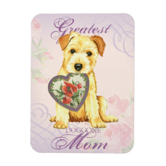 Norfolk Heart Mom Magnet
