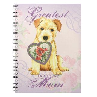Norfolk Heart Mom Notebook