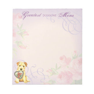 Norfolk Heart Mom Notepad