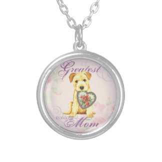 Norfolk Heart Mom Silver Plated Necklace