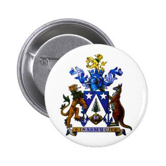 Norfolk Island COA 2 Inch Round Button