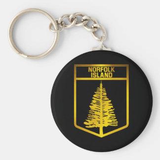 Norfolk Island Emblem Keychain