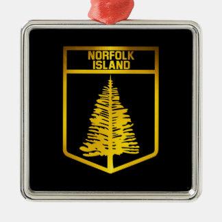 Norfolk Island Emblem Metal Ornament