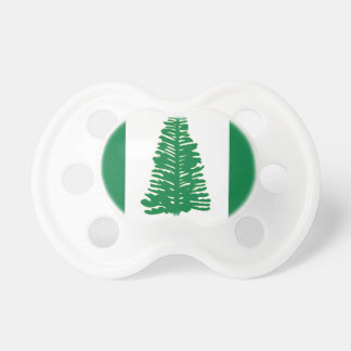 Norfolk Island Flag Baby Pacifier