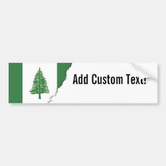 Norfolk Island Flag Bumper Sticker