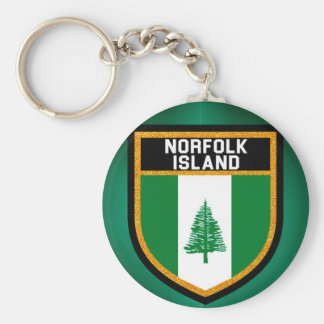 Norfolk Island Flag Keychain