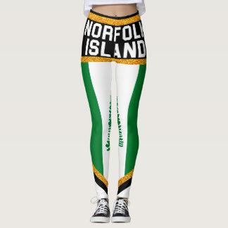 Norfolk Island Flag Leggings