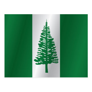 Norfolk Island flag Postcard