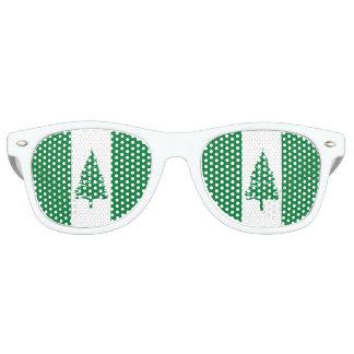 Norfolk Island Flag Retro Sunglasses