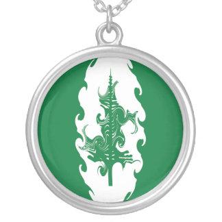 Norfolk Island Gnarly Flag Custom Necklace