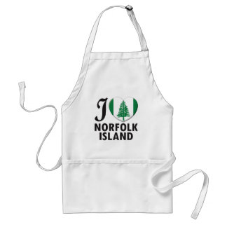 Norfolk Island Love Standard Apron