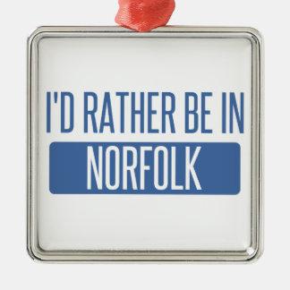 Norfolk Metal Ornament