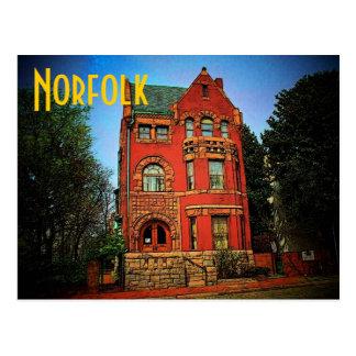 Norfolk Museum Postcard