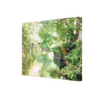 Norfolk River Scene Canvas Print