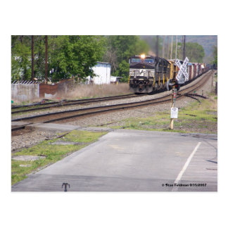 Norfolk Southern C-40-9W #9265 at Macungie Pa. Postcard