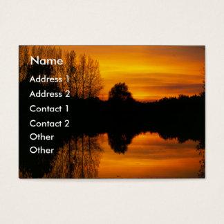 Norfolk Sunset   Business Card