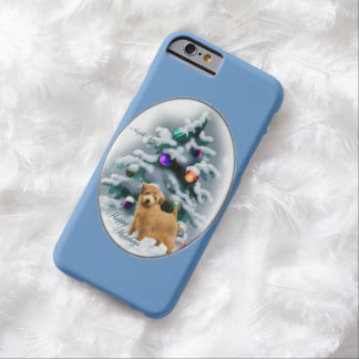 Norfolk Terrier Christmas Barely There iPhone 6 Case