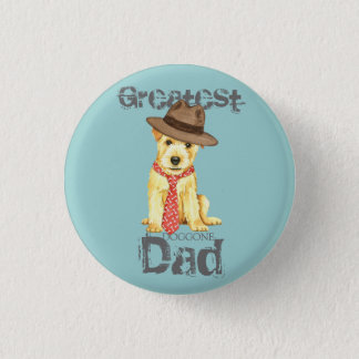 Norfolk Terrier Dad 1 Inch Round Button