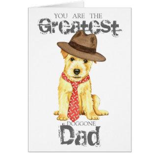 Norfolk Terrier Dad Card