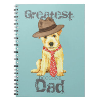 Norfolk Terrier Dad Spiral Notebooks