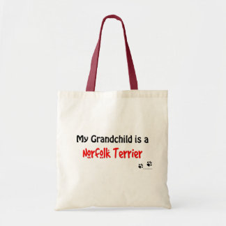 Norfolk Terrier Grandchild Tote Bag