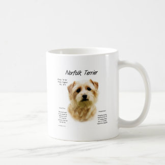Norfolk Terrier History Design Coffee Mug