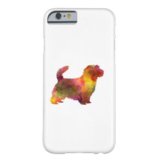 Norfolk Terrier in watercolor Barely There iPhone 6 Case