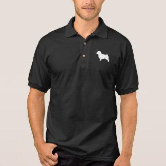 Norfolk Terrier Silhouette Polo Shirt