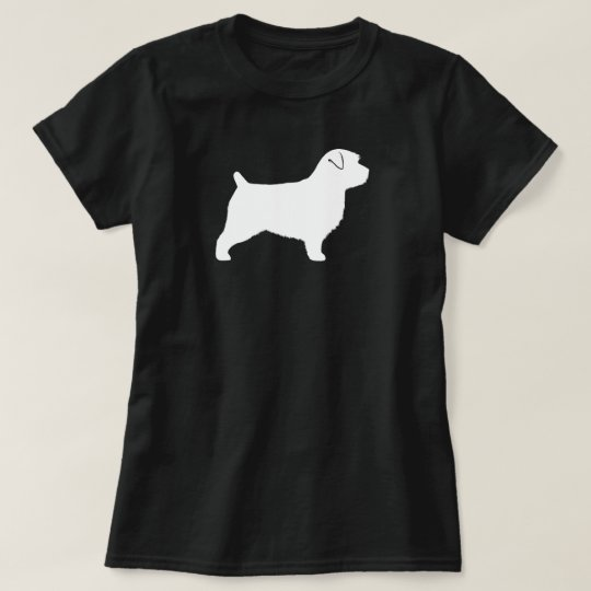 Norfolk Terrier Silhouette T-Shirt