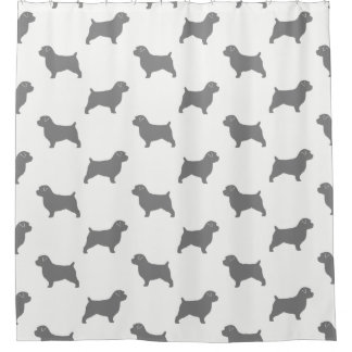 Norfolk Terrier Silhouettes Pattern