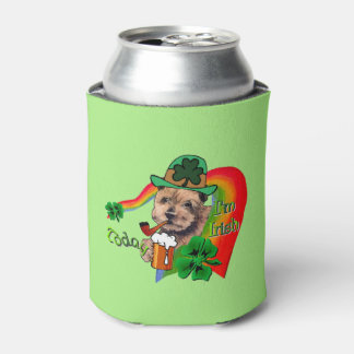 Norfolk Terrier St Patricks Can Cooler
