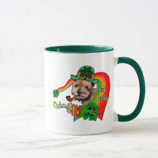 Norfolk Terrier St Patricks Mug