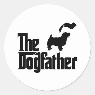 Norfolk Terrier Round Stickers