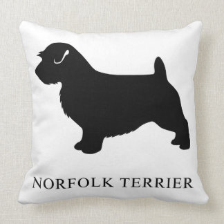 Norfolk Terrier Throw Pillow