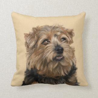 Norfolk Terrier Throw Pillow
