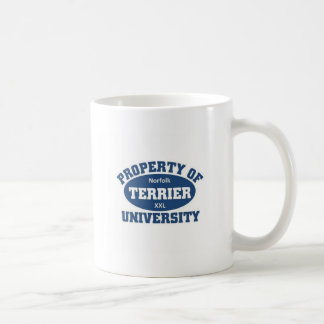 Norfolk Terrier University Coffee Mug
